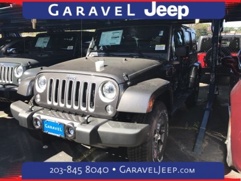 NEW 2017 JEEP WRANGLER UNLIMITED SAHARA WITH NAVIGATION & 4WD