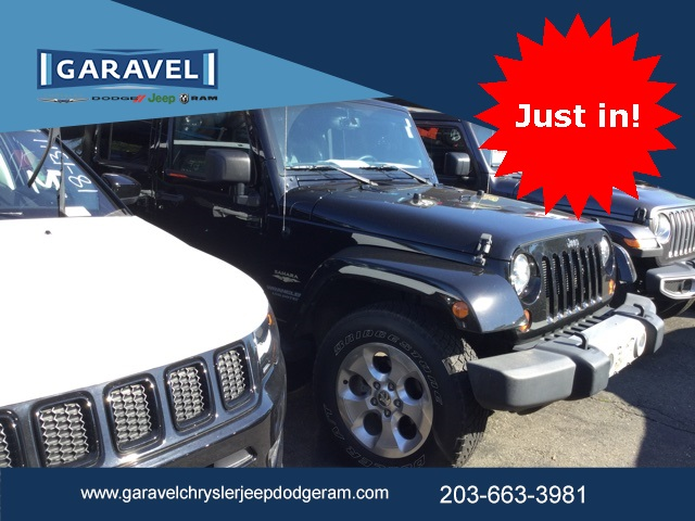 Certified Pre Owned 2013 Jeep Wrangler Unlimited Sahara